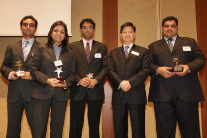 SJMSOM, IIT Bombay Creates History at NUS Cerebrations