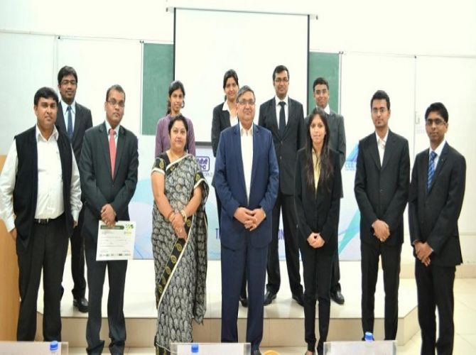 Consulting and Entrepreneurship Cell conducted the event 'Udyam'.jpg