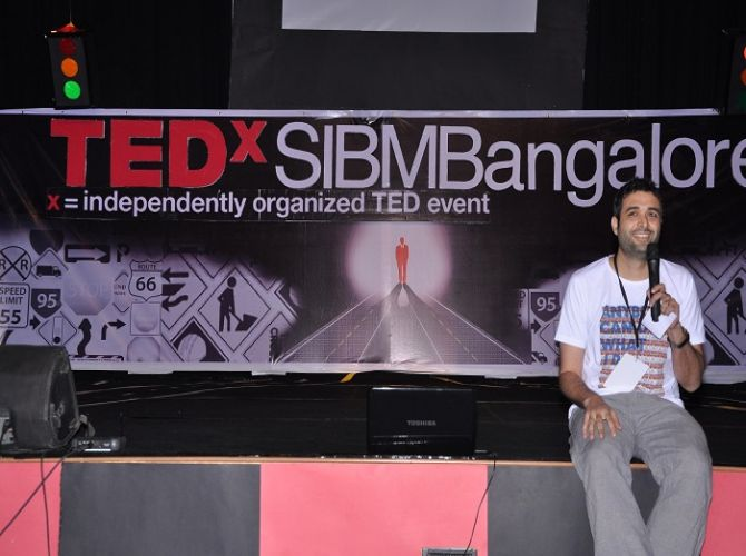 Danish Aslam at TEDxSIBMB.JPG