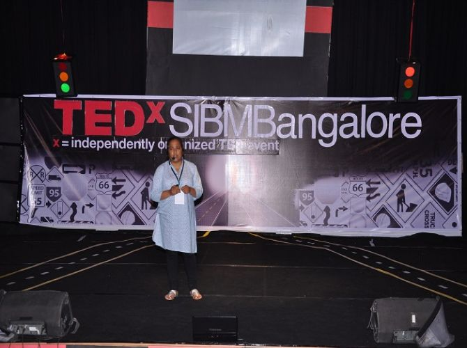 Pushpa Basnet at TEDxSIBMB.JPG