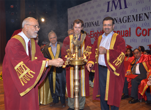 IMI confers students with management diplomas on 28th convocation